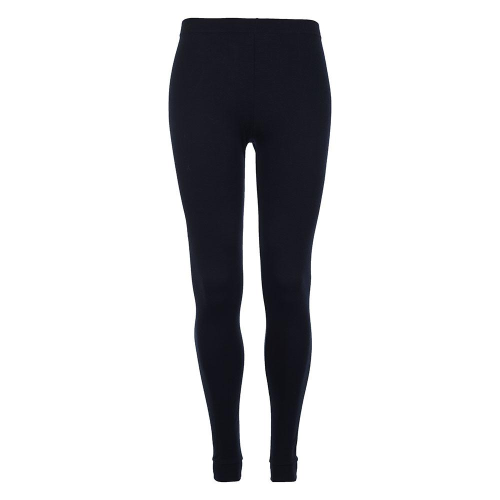 Merino Skins - Classic Long Johns - Wool Interlock - Black