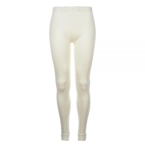 Merino Skins - Unisex Long John / Pant - Bleach White