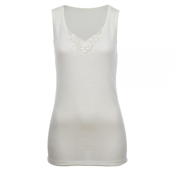 Sleeveless Vest - Natural